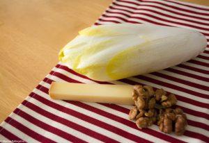 salade d'endive : les ingrédients
