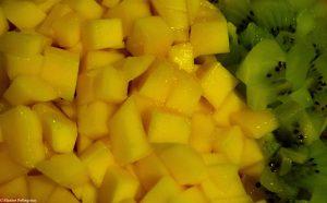 Délice kiwi-mangue : les fruits