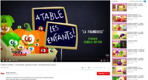 A table, les enfants ! - Youtube