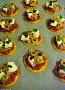 Pizzettes avant cuisson