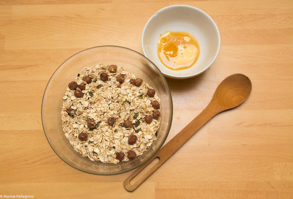 granola : préparation